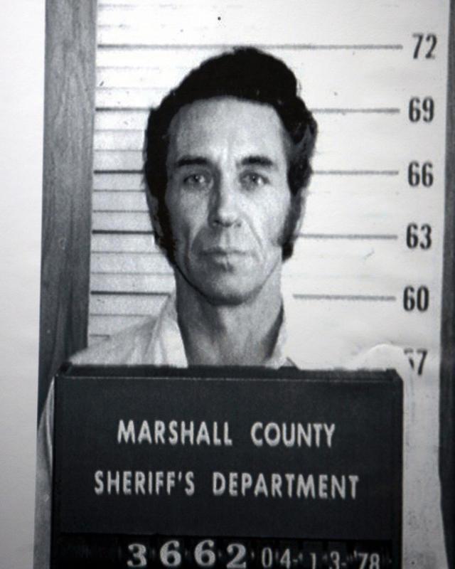 Edwin Dean Richardson, shown in a 1978 booking photo.