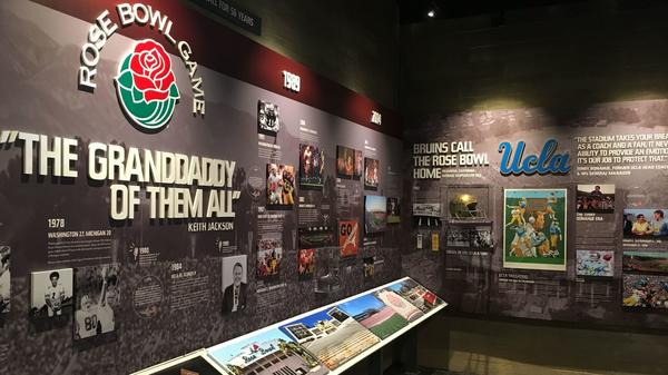 Rose Bowl opens a high-end fan cave as part of the buildup to its 100th anniversary