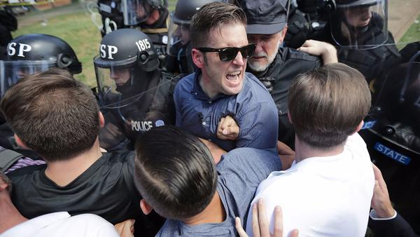 Can white supremacist groups be blocked from raising money online? There's a campaign to try