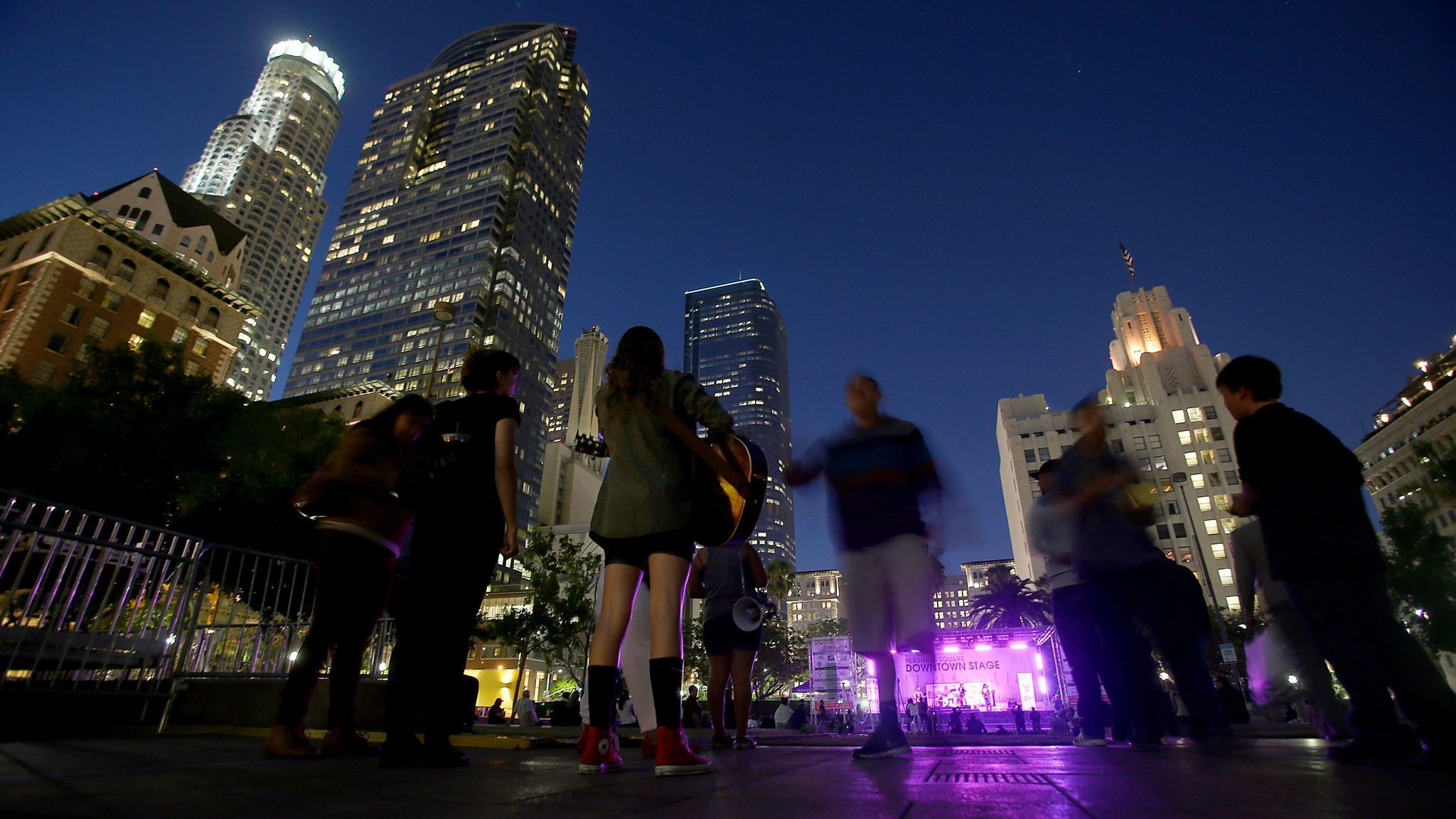 Backed by ACLU, photographer sues for right to shoot Pershing Square summer concert series