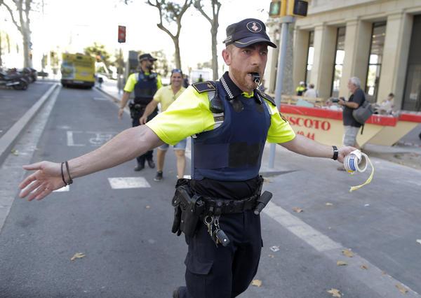 At least 13 killed, 100 injured in Barcelona van attack blamed on 'jihadi terrorism'