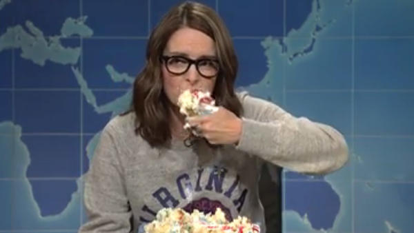 On 'SNL,' Tina Fey advises staying home during far-right rallies: 'Let these morons scream into the empty air'
