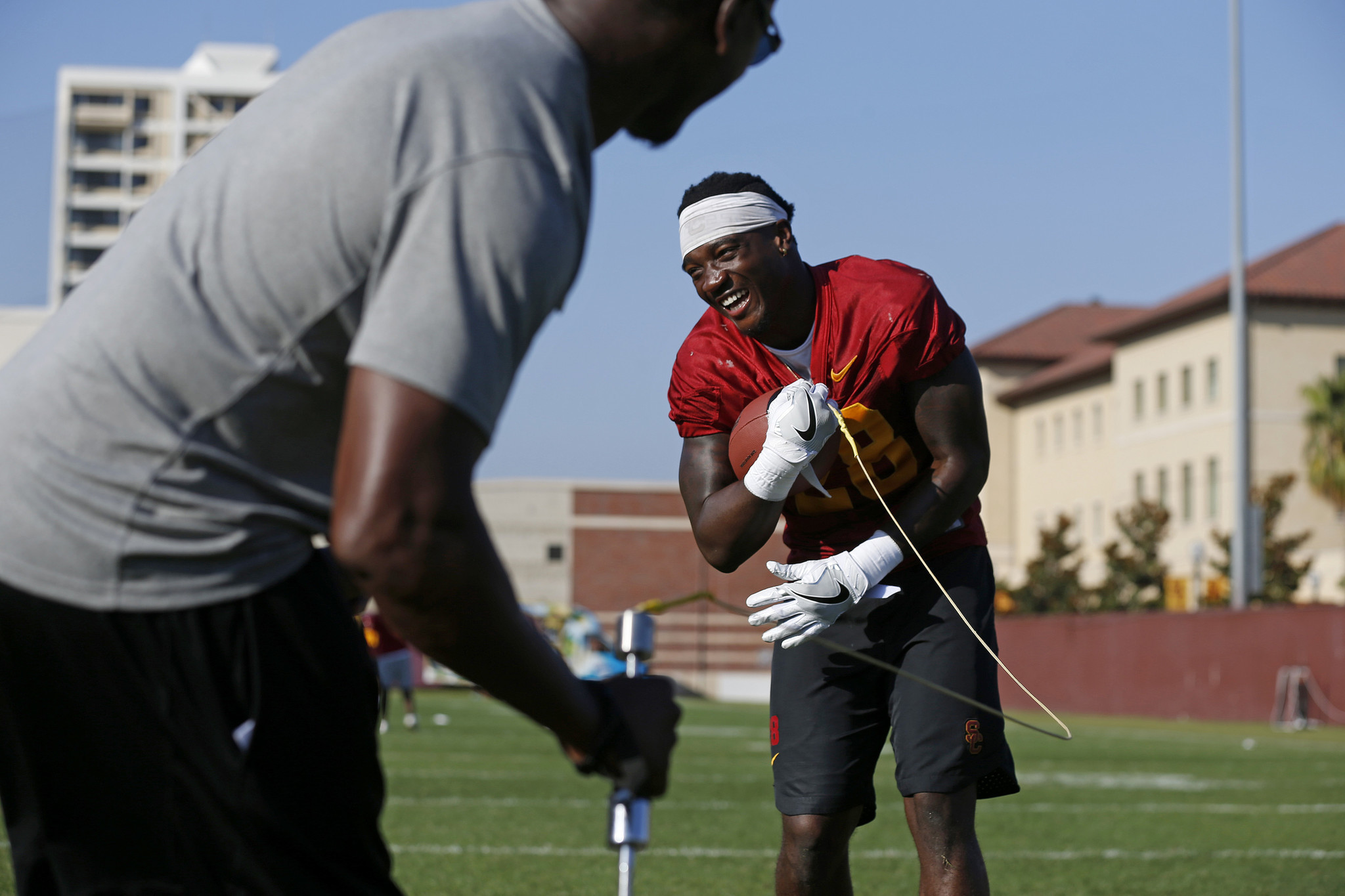 To eliminate mistakes, USC acts like a startup: 'I came up with this new app,' Tee Martin says