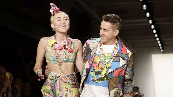 Jeremy Scott creates a custom leather look for Miley Cyrus' 'Younger Now' album artwork