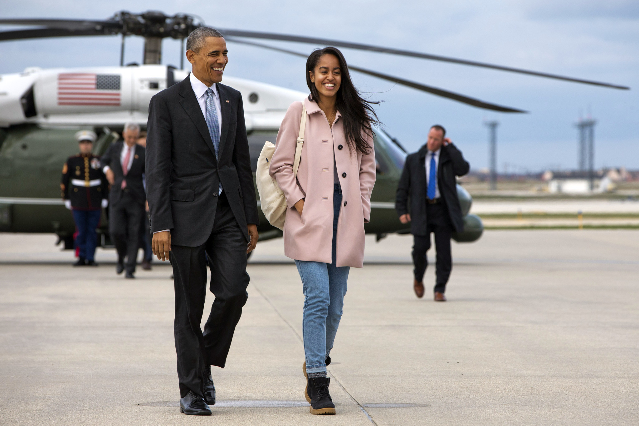 Malia Obama's gap year about to end as she goes to Harvard