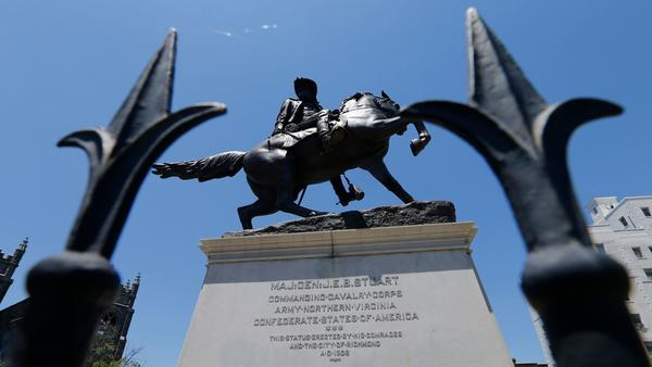 In the former capital of the Confederacy, the debate over the city's famed Civil War monuments is heating up