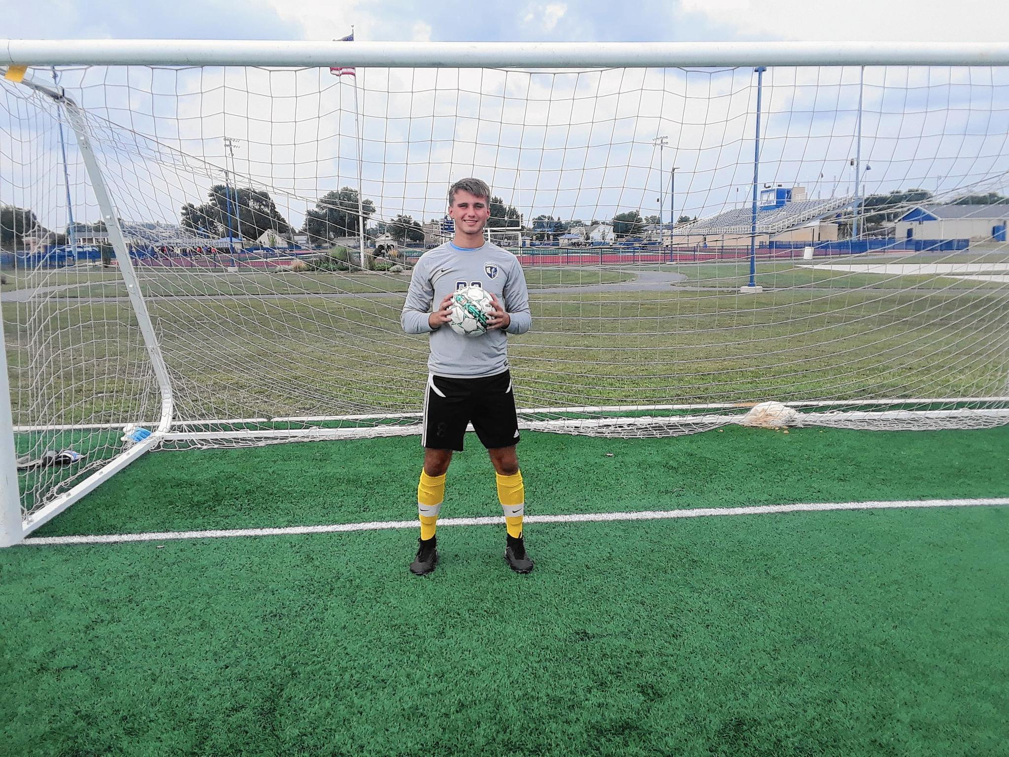 ram on the run star goalkeeper derik judka also kicks for reavis