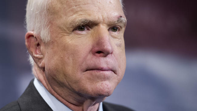 McCain says he is facing 'very vicious' form of cancer