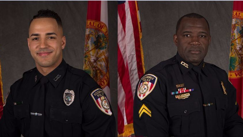2 Kissimmee Police officers shot and killed, one person in custody