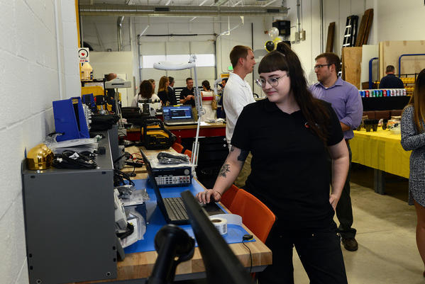 Stanley Black & Decker expands in Towson with makerspace