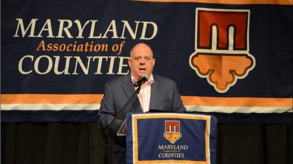 Hogan announces new statewide development plan at Maryland Association of Counties conference