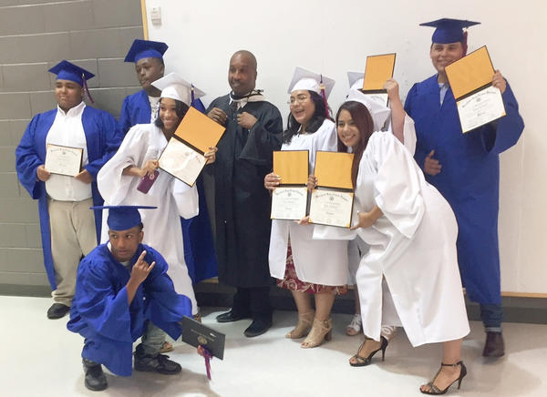 Better late than never, students earn their high school diplomas