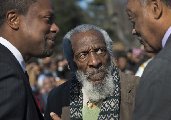 On Twitter: Some of Dick Gregory's best lines and memorable moments