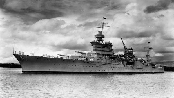 Researchers find wreckage of famed Navy cruiser Indianapolis, sunk in 1945