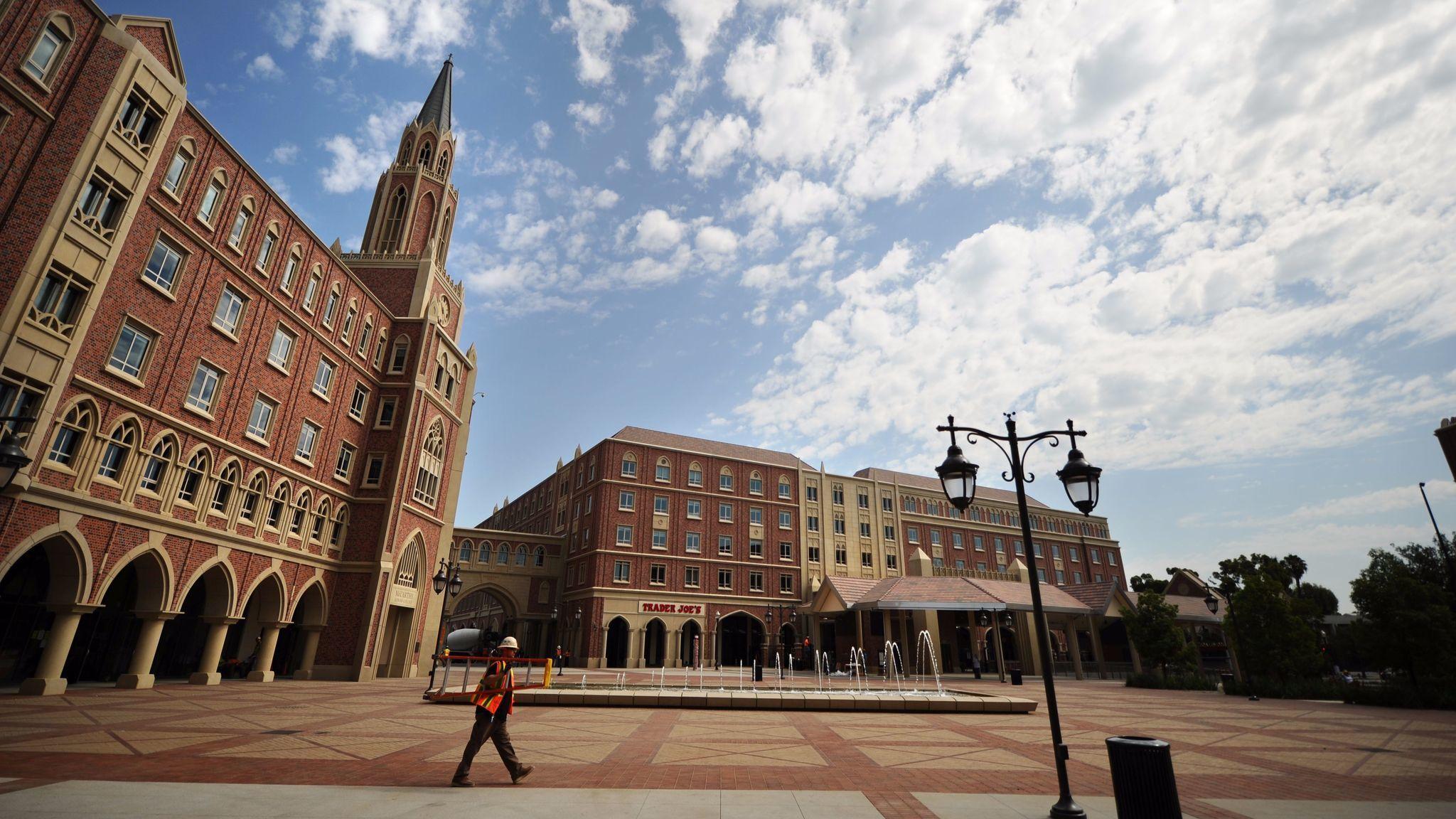 Disneyland meets Hogwarts at $700-million USC Village