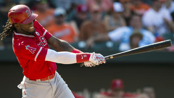 Cameron Maybin returns to Angels lineup with game-winning pinch hit in 5-4 win over Orioles