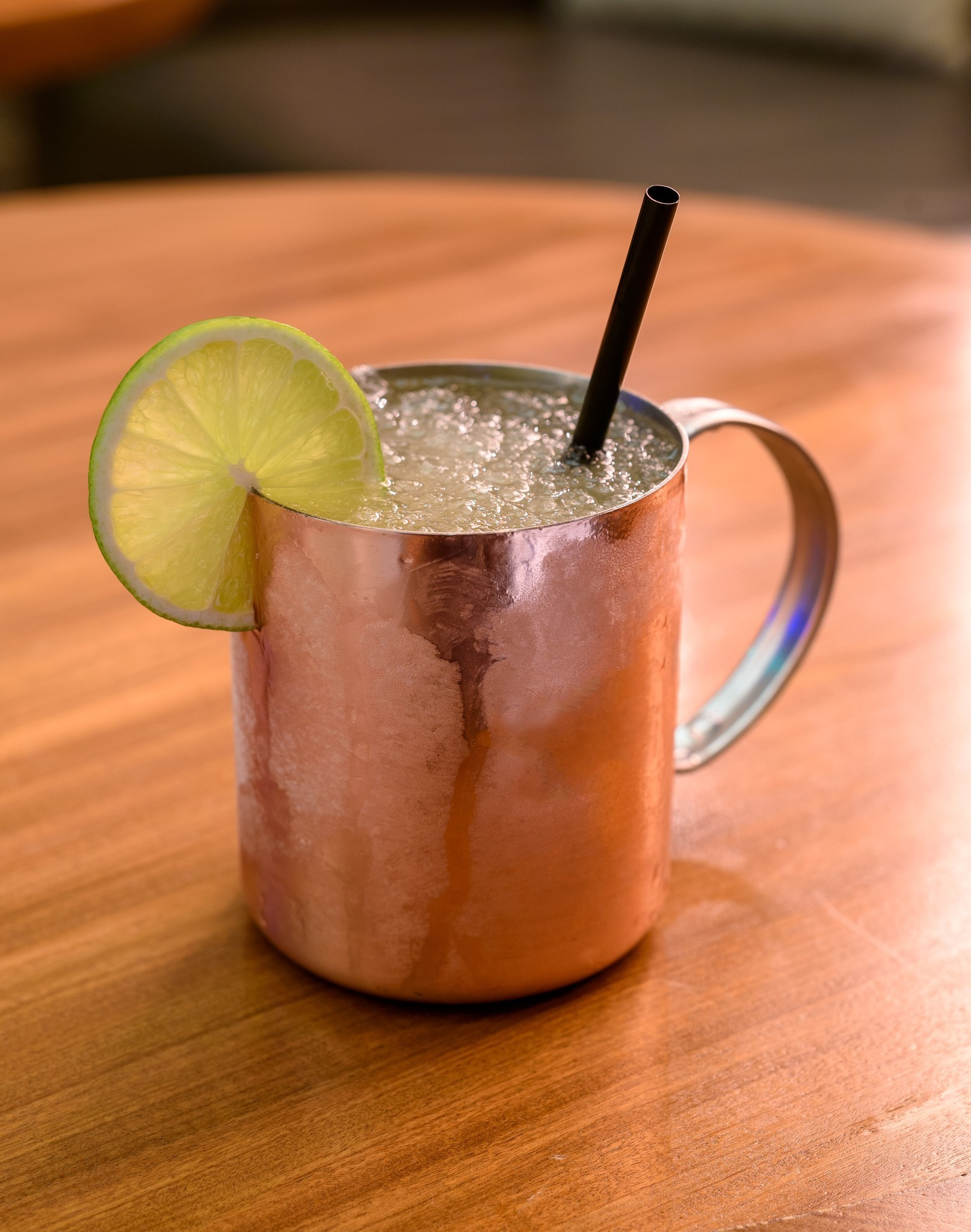 "In honor of boxer Conor McGregor's red hair, two Las Vegas resorts are serving a specialty cocktail this week. ""He's a Ginga'"" puts an Irish spin on the Moscow Mule."
