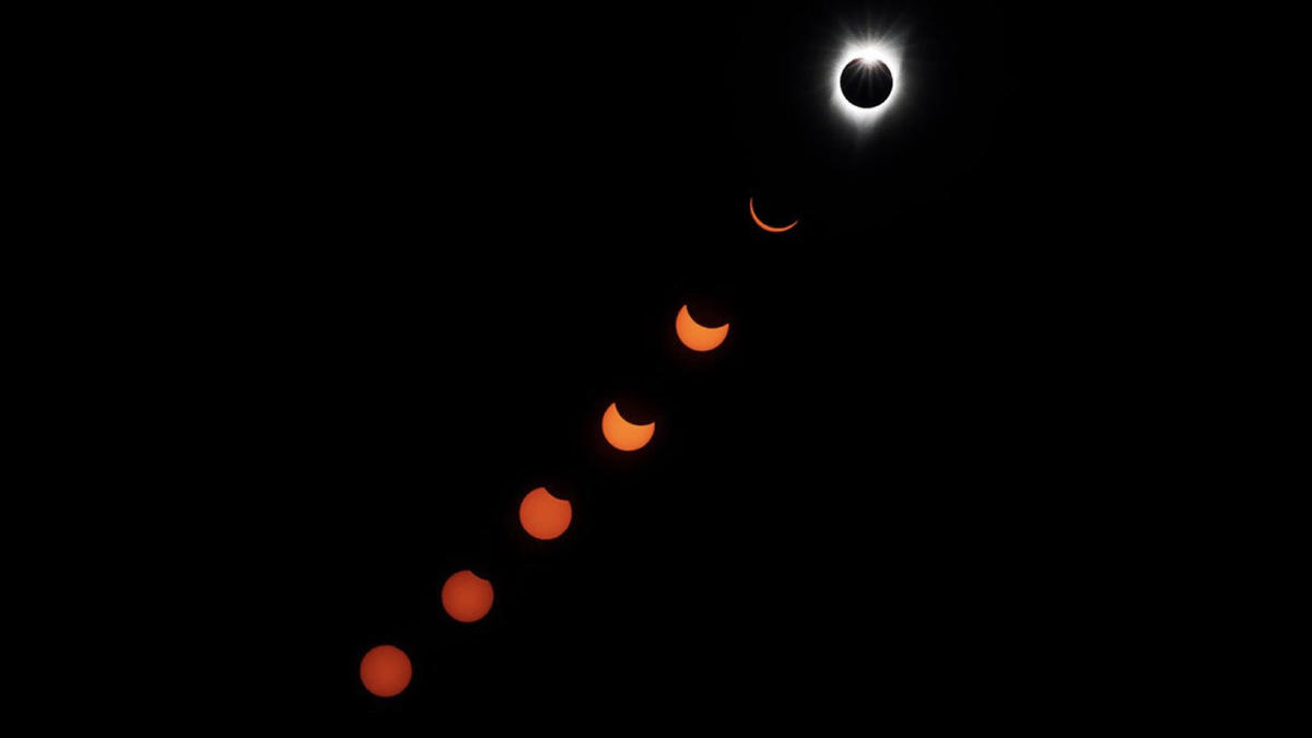 incamera multiple exposure of the phases of the solar eclipse from salem marcus yam los angeles times