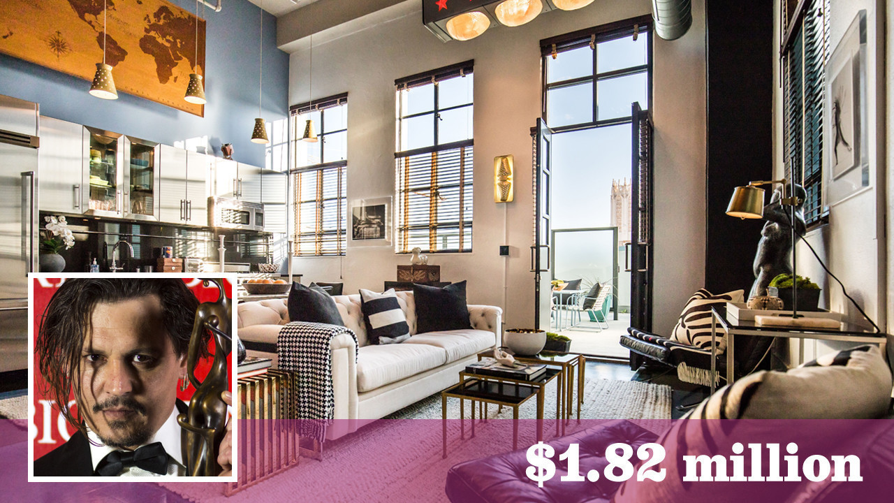 Johnny Depp sells fourth of his five downtown L.A. penthouses