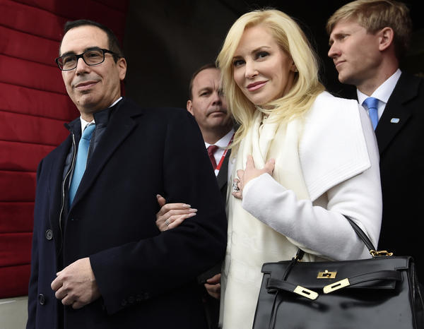 Louise Linton, wife of Treasury Secretary Steven Mnuchin, slams Instagram follower after criticisms from several users