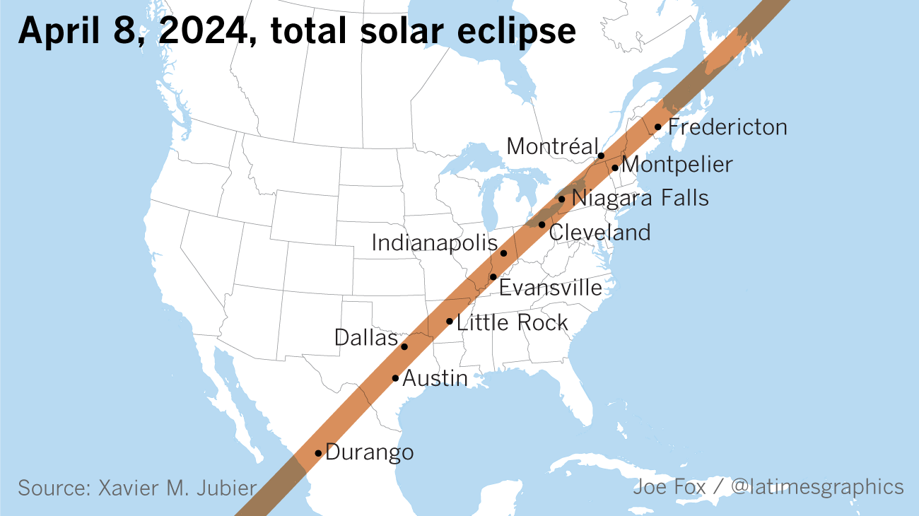 Did you fall in love with totality? Next total solar eclipse comes to the U.S. in 2,421 days