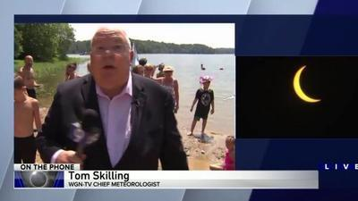 Tom Skilling's solar eclipse sob a joy to viewers ...