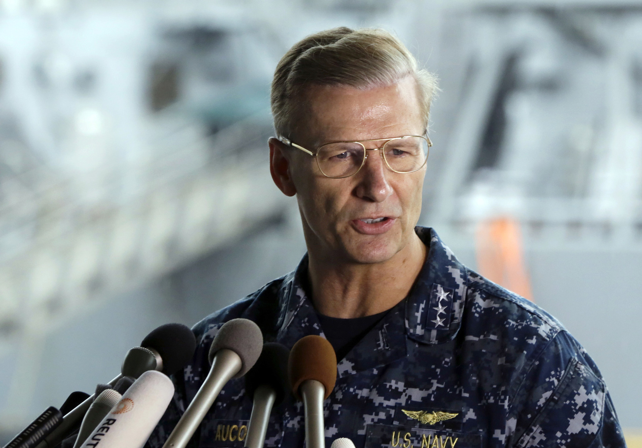 Navy expected to relieve admiral in charge of Japan-based fleet after deadly disasters