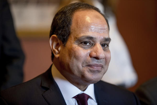 Egyptian President Abdel Fattah Sisi (Associated Press)