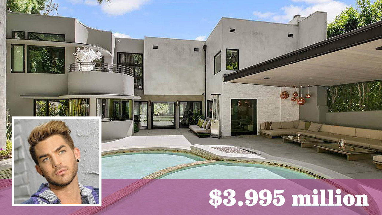 39 idol 39 alum adam lambert is ready to let go of hollywood hills west home la times. Black Bedroom Furniture Sets. Home Design Ideas