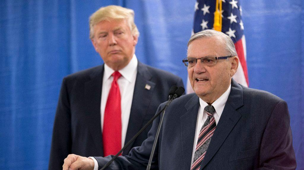 Joe Arpaio announces he's running for Senate