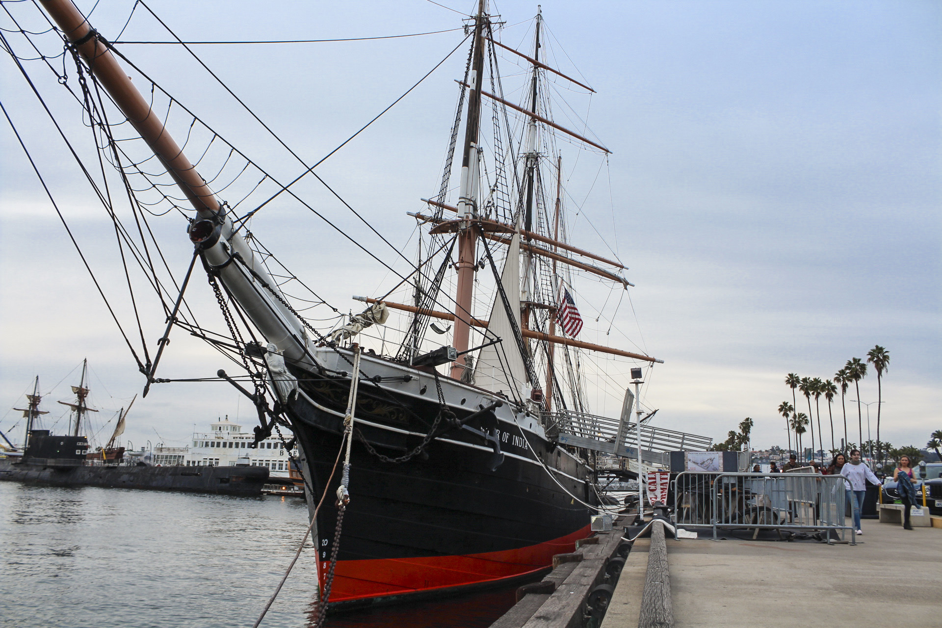 The Star of India at the Embarcadero in San Diego has a storied past that includes mutiny.