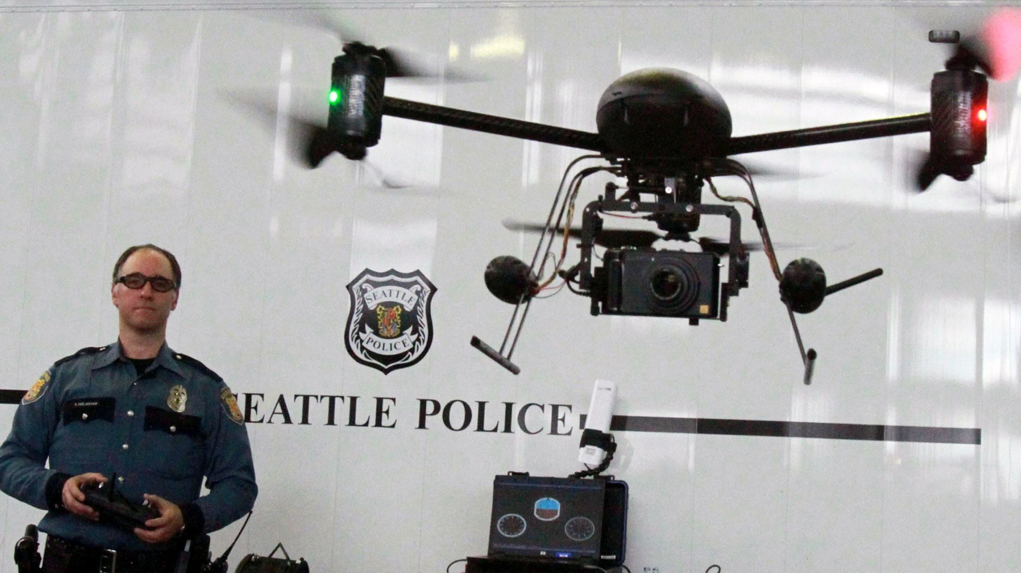 Should the LAPD test drones? Police ask the public to weigh in