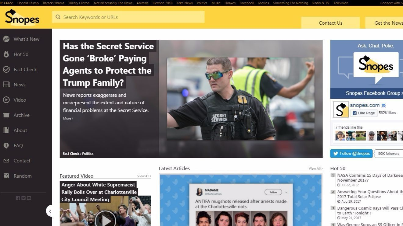 Snopes ceo arrested
