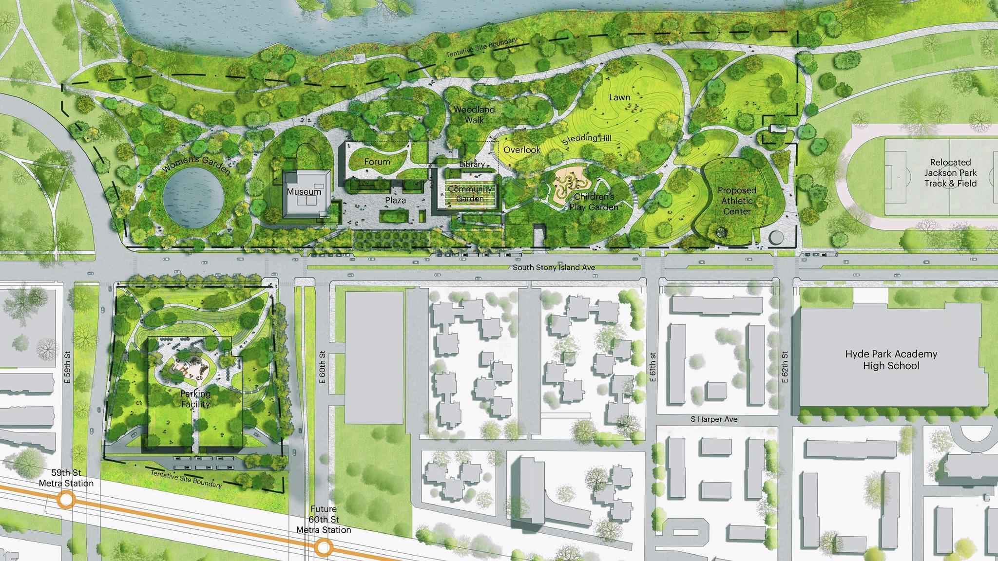 New lane on Lake Shore Drive and parking garage proposed for Obama