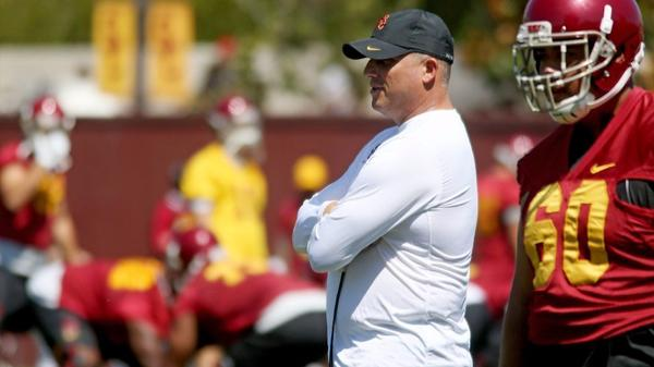 USC quickly rebuilding depth on offensive line with freshmen