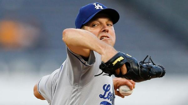 Rich Hill flirts with perfection and ends up with heartache in Dodgers' 1-0 loss to Pirates in 10 innings