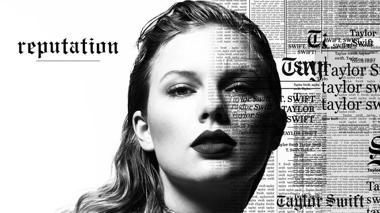 The cover of Taylor Swift's forthcoming 'Reputation' album, due Nov. 10. (Mert & Marcus)