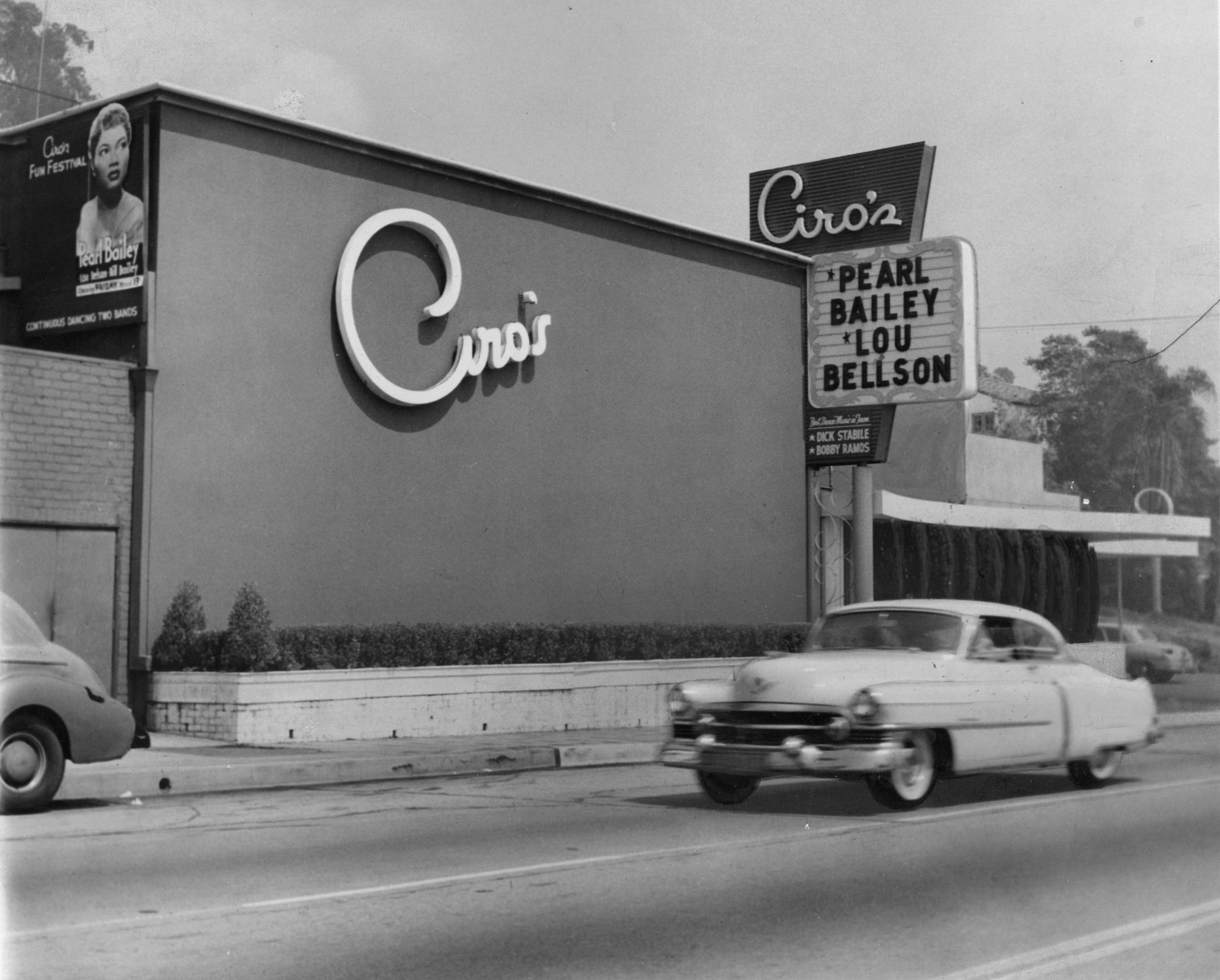 Ciro's Nightclub in 1953.
