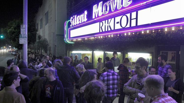 The Cinefamily on Fairfax Avenue in Los Angeles. (Lawrence K. Ho / Los Angeles Times)