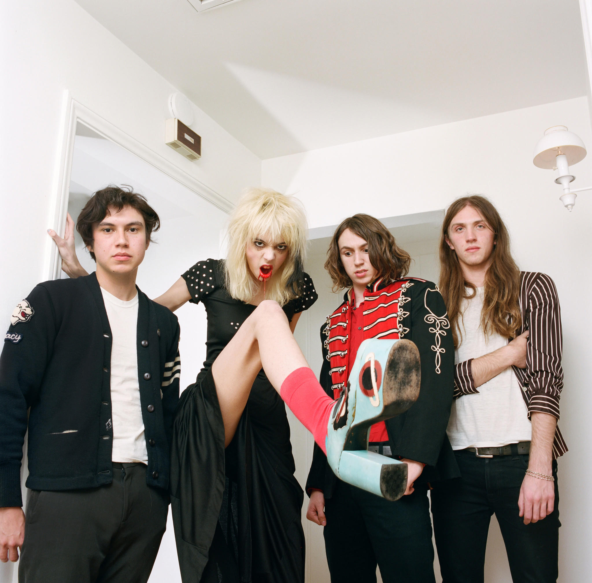 The band Starcrawler hails from Los Angeles. (Autumn De Wilde)