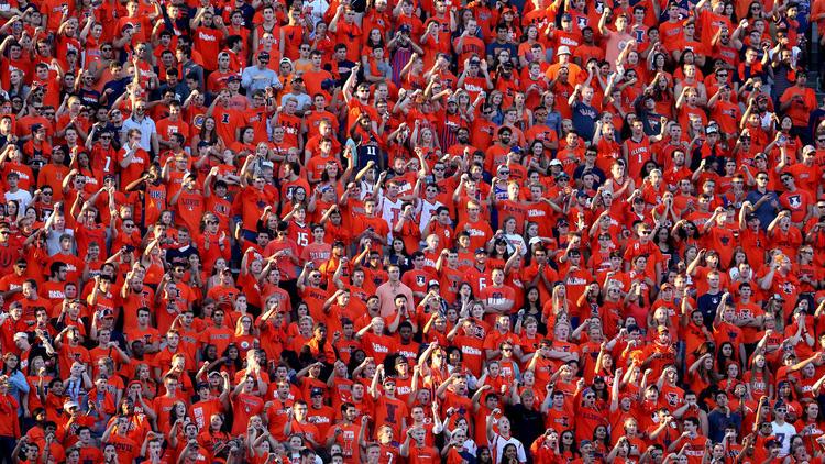Illinois fans