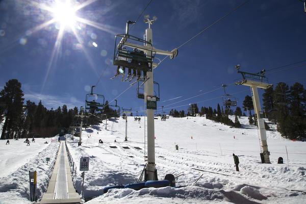 Snow Summit (Gina Ferazzi / Los Angeles Times)