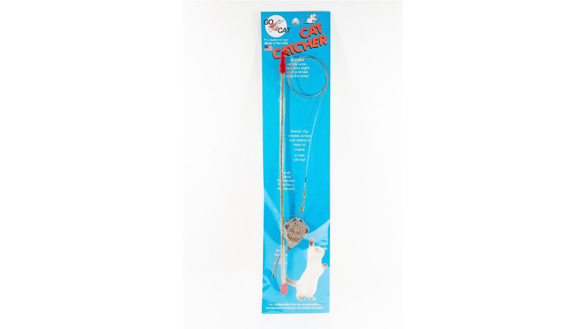 Cat catcher wand toy