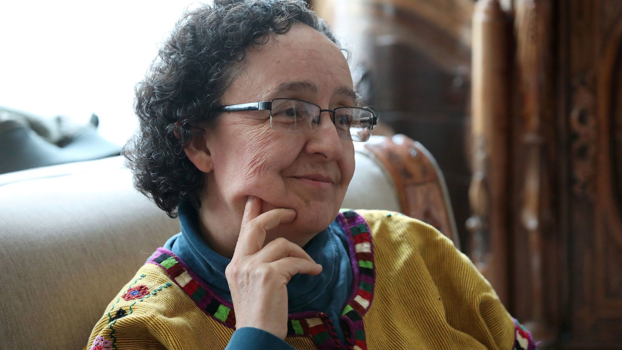 Artist Mónica Mayer is a key Mexican feminist artist.