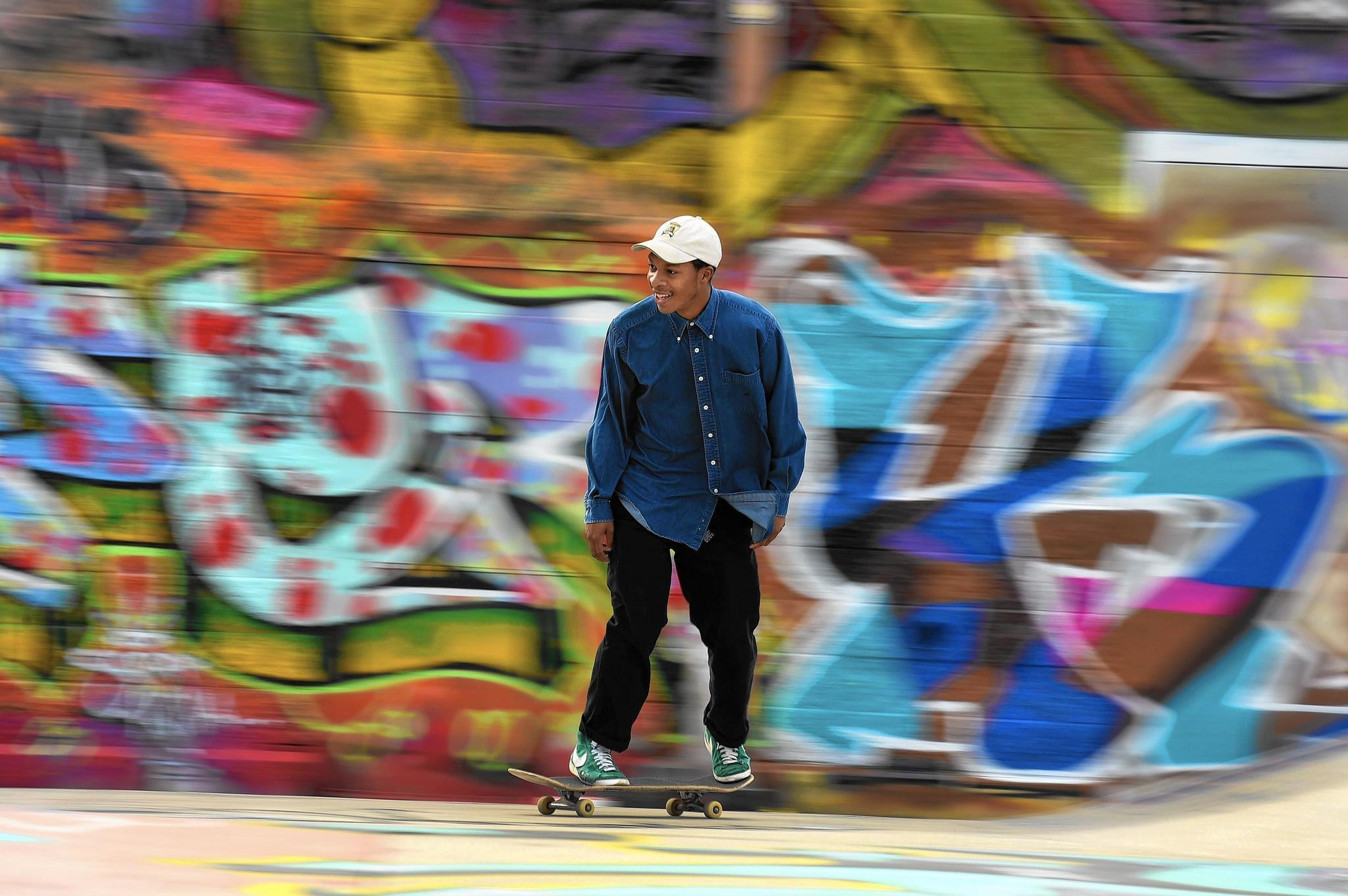 Artists to converge on hartford skate park for graffiti jam artists to converge on hartford skate park for graffiti jam makeover hartford courant thecheapjerseys Gallery