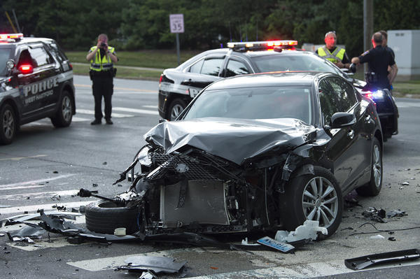 State Trooper Issued Written Warning After Six Car Crash