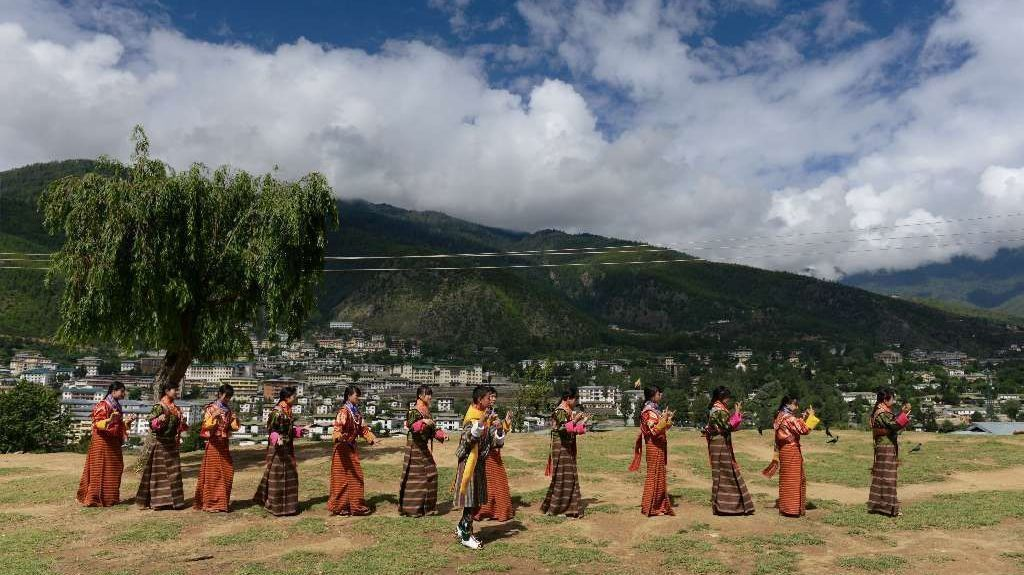 As China and India tussle in South Asia, a pristine mountain kingdom is caught in the middle