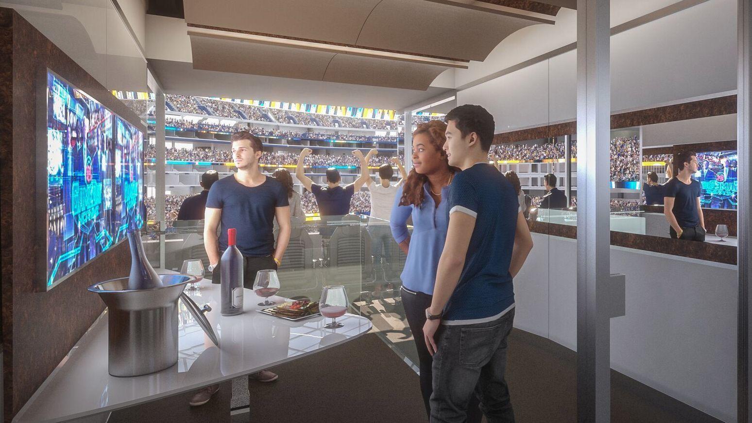 Inglewood Stadium Developers Hope Suites Will Transform