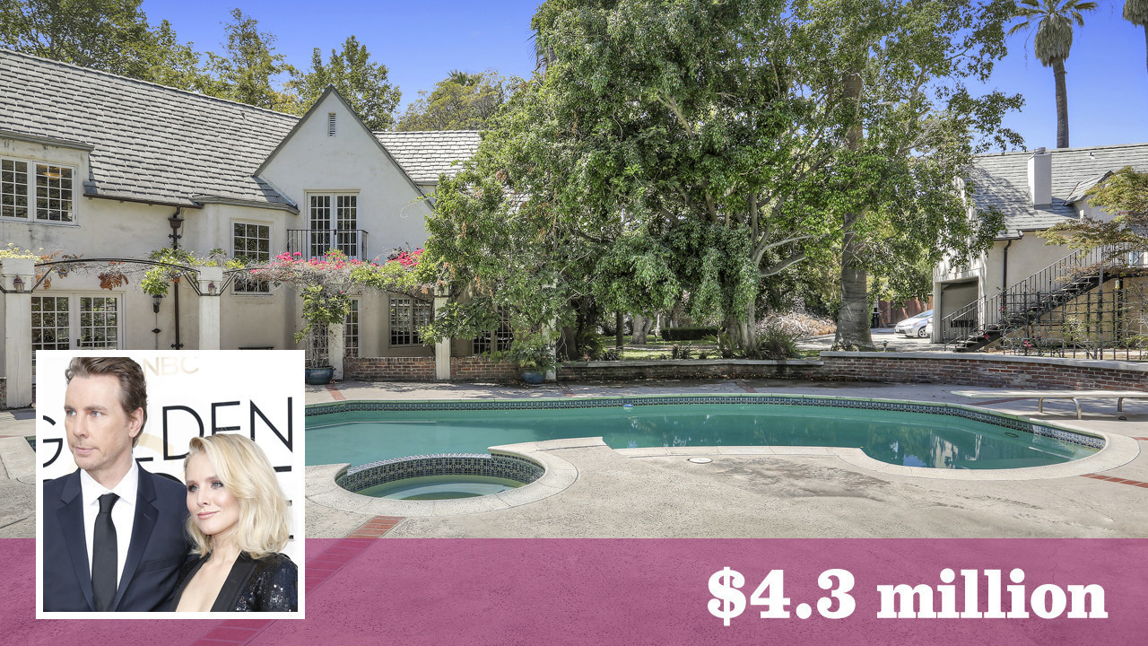 kristen bell and dax shepard snap up a 1920s classic in laughlin