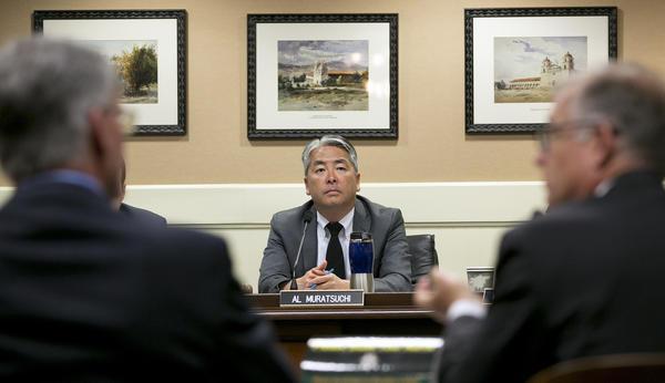 Assemblyman Al Muratsuchi (D-Torrance) said he hasn't made up his mind on SB 2. (Rich Pedroncelli / Associated Press)